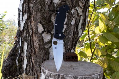 "Нож ""Manix 2 XL"" Crucible CPM-S30V Black G-10 C95GP2 от Spyderco — Kknife"