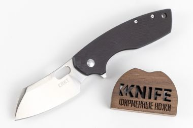 "Нож ""Pilar Large"" 8Cr14MoV G-10 Stainless Steel 5315G от CRKT — Kknife"