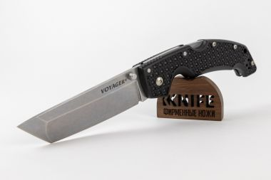 "Нож ""Voyager Large Tanto Point Plain"" AUS10A 29AT от Cold Steel — Kknife"