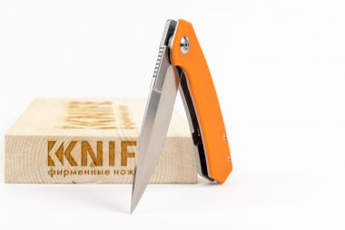 "Нож ""Adimanti Skimen-OR"" D2 Orange G-10 от Ganzo — Kknife"
