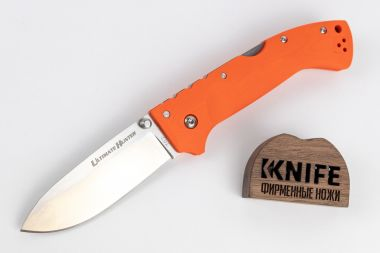 "Нож ""Ultimate Hunter (Orange)"" S35VN 30URY от Cold Steel — Kknife"