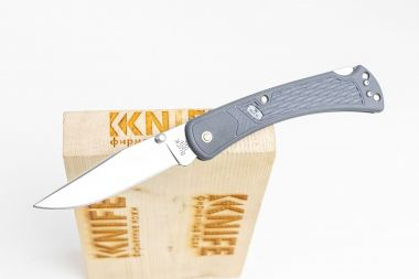 "Нож ""110 Slim Select Knife"" 420НС Gray Nylon 0110GYS2 от Buck Knives — Kknife"