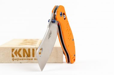 "Нож ""Firebird F7551-OR"" 440C Orange G-10 от Ganzo — Kknife"