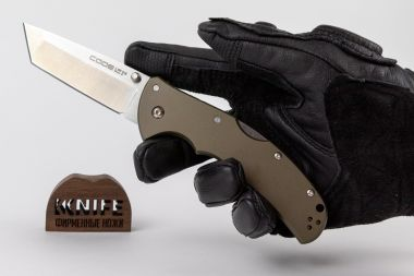 "Нож ""Code-4 Tanto Point Plain"" S35VN 58PT от Cold Steel — Kknife"