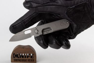"Нож ""Black Fox BF-719""Panchenko Bean Gen 2 FOX Knives 440C — Kknife"