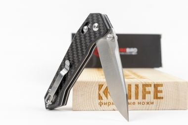 "Нож ""Firebird FB7651-CF"" 440C Carbon Fiber от Ganzo — Kknife"