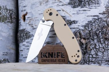 "Нож ""RAT-1 Model"" AUS-8 Sand GRN O8848DT от Ontario Knife Co. — Kknife"