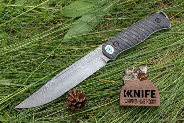 """Купить нож """"Леший-Т"""" ZDI-1016 Carbon Fiber от Златоуст АиР"""