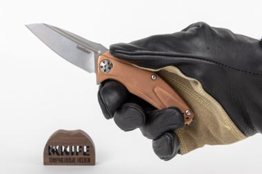 "Нож ""Copper Natrix Mini"" D2 Tool Steel Медь 7006CU от Kershaw — Kknife"