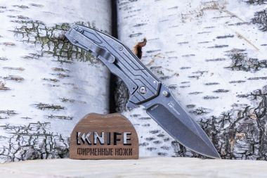 "Нож ""Kingbolt"" 8Cr13MoV Black Stainless Steel 1346 от Kershaw — Kknife"