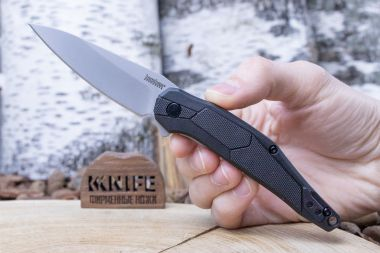 "Нож ""Lightyear"" 4Cr13 Black GRN 1395 от Kershaw — Kknife"