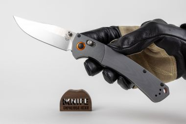 "Нож ""Hunt Crooked River"" Crucible CPM S30V G-10 15080-1 от Benchmade — Kknife"