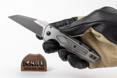 "Нож ""Deadline KVT Flipper 2-Tone"" 8Cr13MoV Stainless Steel 1087 от Kershaw — Kknife"