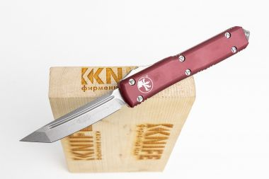 "Нож ""Ultratech T/E Stonewash Standard"" Carpenter CTS-204P Aluminium 123-10MR от Microtech — Kknife"
