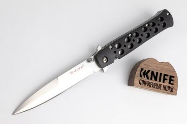 "Нож ""Ti-Lite 4"" AUS 8A Zy-Ex от 26SP Cold Steel — Kknife"