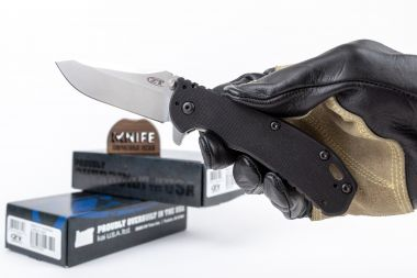 "Нож ""Hinderer Assisted"" Crucible CPM S35VN Titan/G-10 0566 от Zero Tolerance — Kknife"