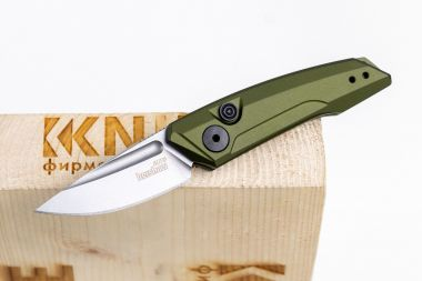 "Нож ""Launch 9"" Crucible CPM 154 Olive Aluminium 7250OLSW от Kershaw — Kknife"