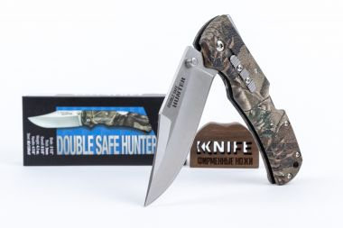 "Нож ""Double Safe Hunter Camo"" 8Cr13MoV GFN 23JD от Cold Steel   — Kknife"