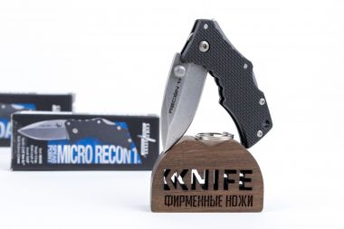 "Нож ""Micro Recon 1 Spear Point"" 4034SS Griv-Ex 27DS от Cold Steel — Kknife"