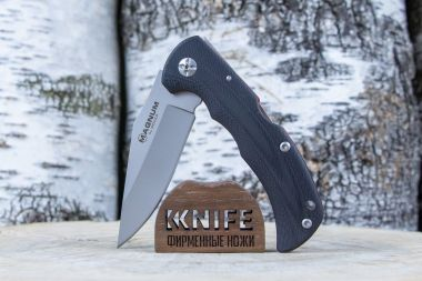 "Нож ""Most Wanted"" 440A Black G-10 01SC078 от Boker Magnum — Kknife"