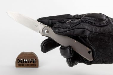 Нож Fox Knives FX-525 Ti, Gray Titanium, N690 Design by Bob Terzuola — Kknife