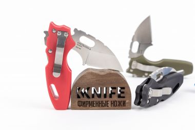 "Нож ""Mini Tuff Lite Edge"" AUS 8A Red Grive-Ex 20MTR от Cold Steel — Kknife"