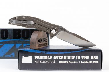 "Нож ""RJ and Matt Martins Design 0609"" Crucible CPM 20CV Titanium 0609 от Zero Tolerance — Kknife"