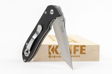 "Нож ""Firebird F714"" BRD 4116 Black G-10 от Ganzo — Kknife"