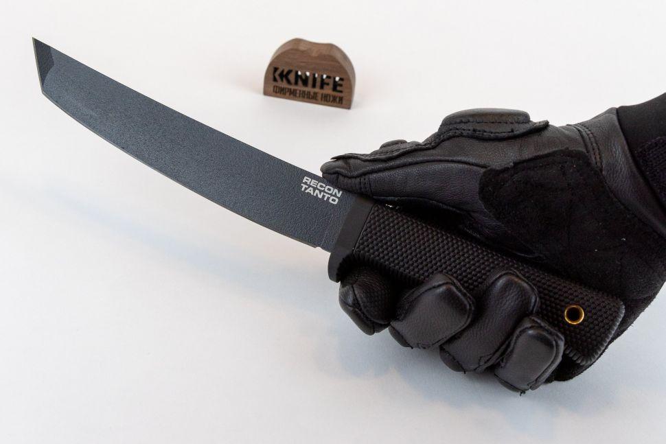 "Купить нож ""Recon Tanto SK-5"" Black Tuff-Ex от Cold Steel"