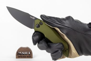 "Нож ""Launch 1"" Crucible CPM 154 Aluminium 7100OLBLK от Kershaw — Kknife"