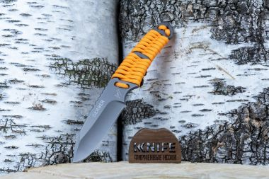 "Нож ""Survival Paracord Knife"" 5Cr15MoV Paracord 1196491 от Gerber — Kknife"