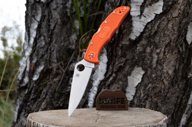 "Нож ""Endura 4"" VG-10 Orange FRN 10FPOR от Spyderco — Kknife"