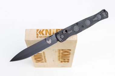 "Нож ""SOCP Tactical Folder"" D2 CF-Elite 391BK от Benchmade — Kknife"